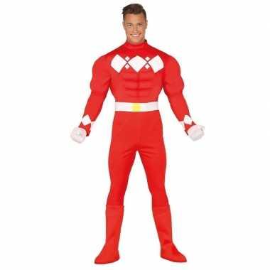 Carnaval superheld verkleedkleding voor herencarnavalskleding