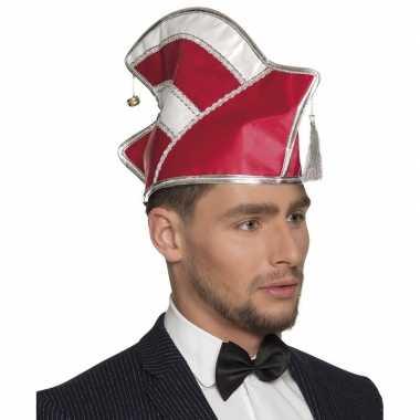 Carnaval verkleedaccessoires muts voor herencarnavalskleding