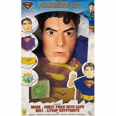 Carnavalkostuum superman voor kids carnavalskleding