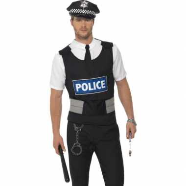 Carnavals kleding politie verkleed setje carnavalskleding