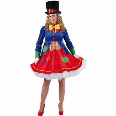 Carnavalskleding clowns jurkje carnavalskleding
