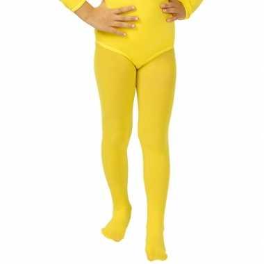 Carnavalskleding gele kinder pa