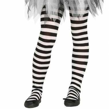 Carnavalskleding/halloween wit/zwarte heksen panties/maillots verklee
