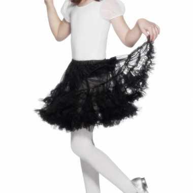 Carnavalskleding/halloween zwarte heksen rokken/tutus verkleedaccesso