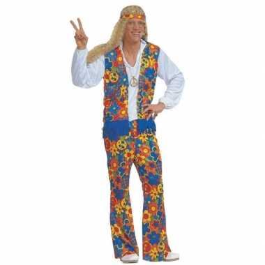 Carnavalskleding hippie pak heren carnavalskleding