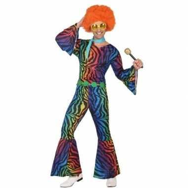 Carnavalskleding jaren 70 disco voor heren