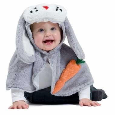 Carnavalskleding konijntje voor babies/peuters