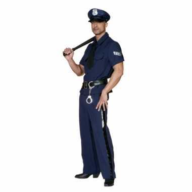 Carnavalskleding politie pak