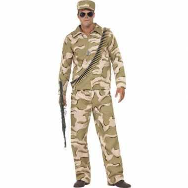 Commando verkleedkleding voor herencarnavalskleding