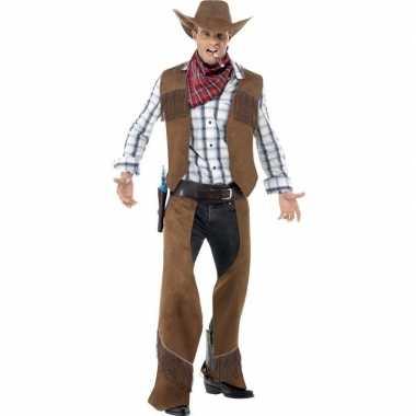 Cowboy kostuum voor herencarnavalskleding