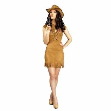 Dames cowboy kostuumcarnavalskleding