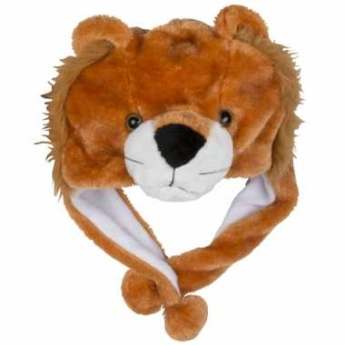 Dierenmuts leeuwtje voor kinderencarnavalskleding