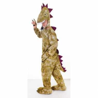 Dinosaurus outfit voor volwassenencarnavalskleding