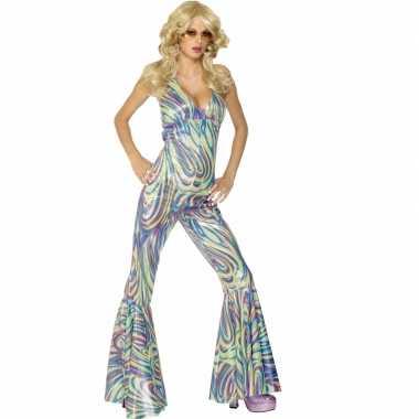 Disco verkleed kleding voor dames carnavalskleding