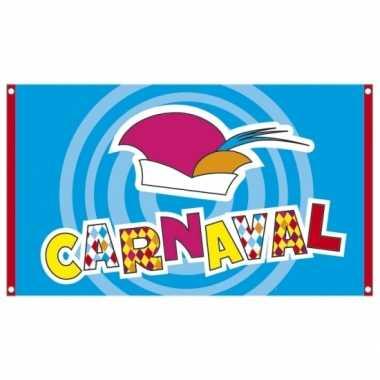 Feestvlag carnaval 90 x 150 cmcarnavalskleding