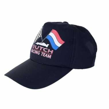 Formule 1 dutch racing team cap pet voor volwassenen carnavalskleding