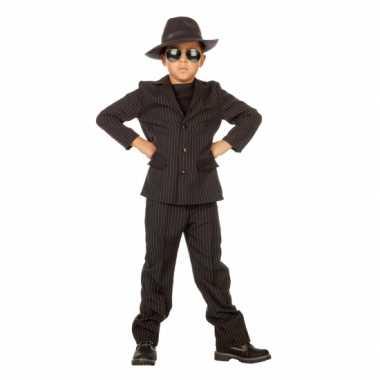 Gangster verkleedkleding voor kidscarnavalskleding
