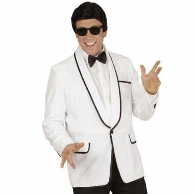 Gentlemen jasje wit carnavalskleding
