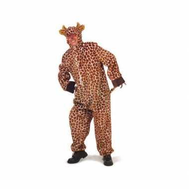 Giraffe pakken voor volwassenencarnavalskleding