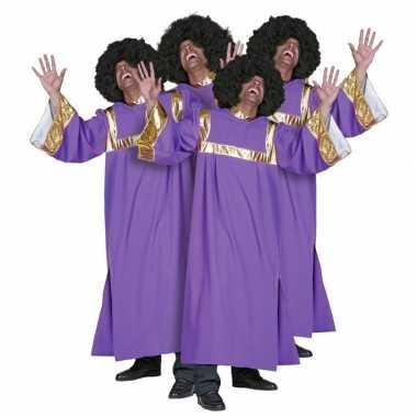 Gospel koor kleding carnavalskleding