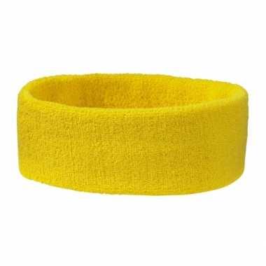 Goudgele hoofdbandcarnavalskleding