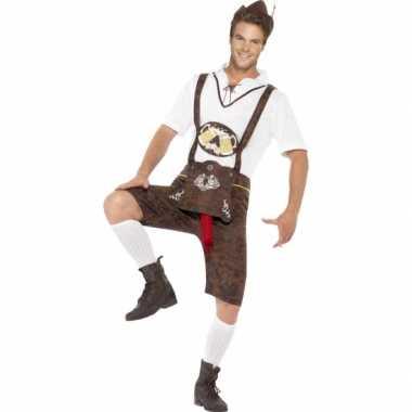 Grappig oktoberfest kostuum voor heren carnavalskleding