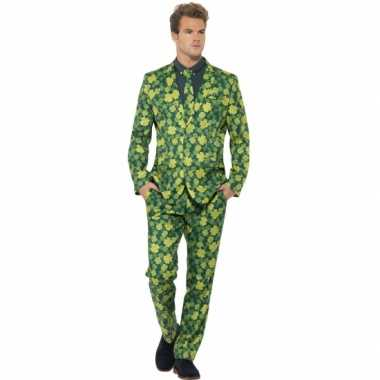 Groen st patrick's day kostuumcarnavalskleding