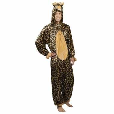 Huispak giraffe voor herencarnavalskleding