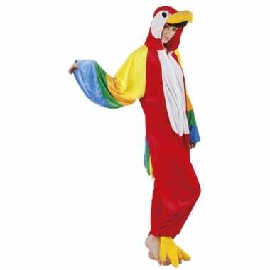 Huispak papegaai voor dames carnavalskleding