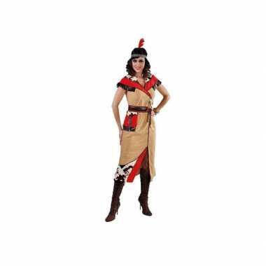 Indiaan kostuum voor damescarnavalskleding