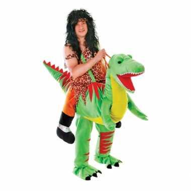 Instap dinosaurus kostuum voor volwassenecarnavalskleding