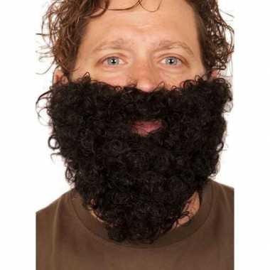 Kabouter baard zwartcarnavalskleding