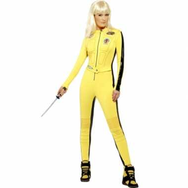 Kill bill outfit voor damescarnavalskleding