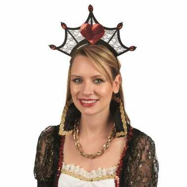 Koninginnenkroon voor damescarnavalskleding