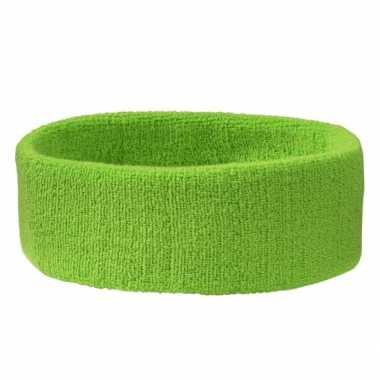 Lime groen hoofdbandjecarnavalskleding