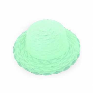 Lime groene hoedjescarnavalskleding