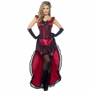 Luxe brothel babe kostuum voor dames carnavalskleding