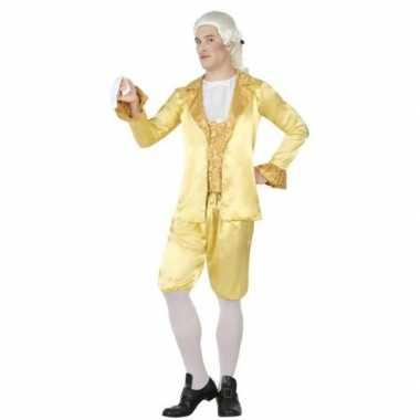 Middeleeuwse lakei verkleed kostuum voor heren carnavalskleding