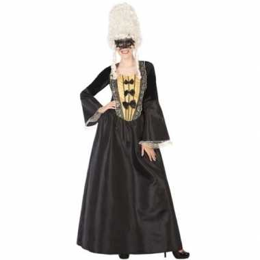 Middeleeuwse markiezin verkleed jurk voor dames carnavalskleding