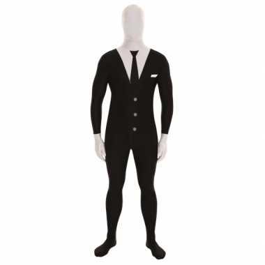 Morphsuit kostuum slendermancarnavalskleding