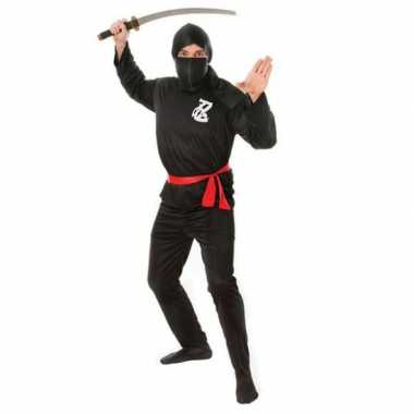 Ninja carnavalskleding volwassenen