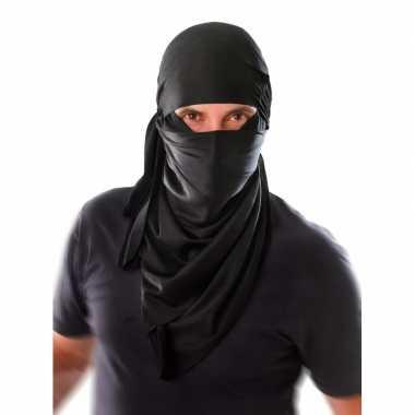 Ninja sjaal voor om het hoofd carnavalskleding
