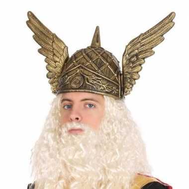 Noorman verkleed helm voor herencarnavalskleding