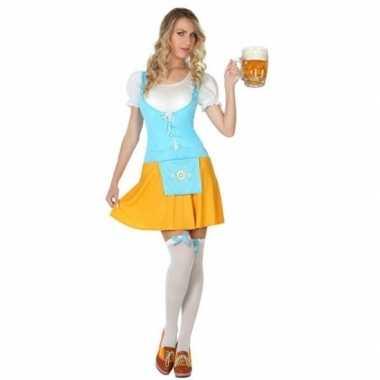 Oktoberfest - voordelig oktoberfest verkleed jurkje voor damescarnava