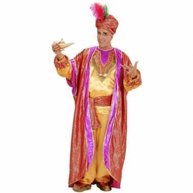 Oosterese sultan kostuum deluxe voor herencarnavalskleding