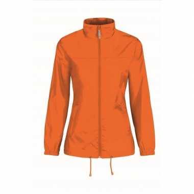 Oranje supporters jas voor damescarnavalskleding