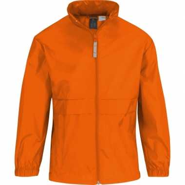 Oranje supporters jas voor meisjescarnavalskleding
