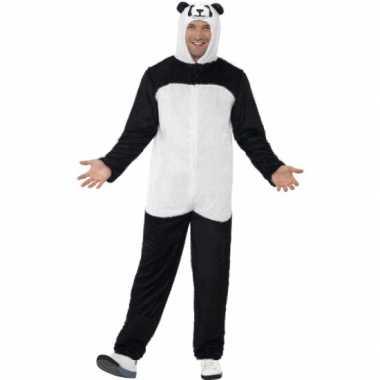 Panda verkleedpak voor volwassenencarnavalskleding