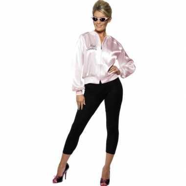 Pink lady jasjes voor damescarnavalskleding