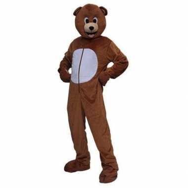 Pluche beren pak voor volwassenencarnavalskleding
